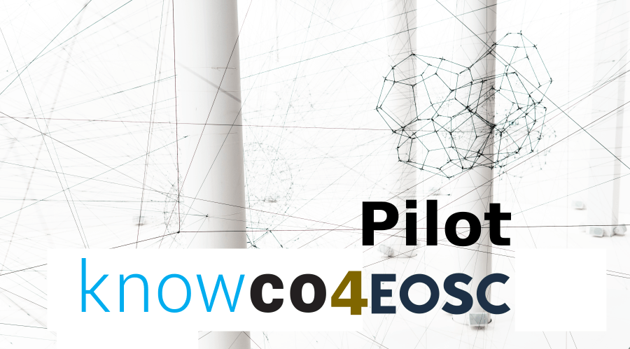 KNOWCO4EOSC: Knowco collabwith platform integrated with the EOSC.