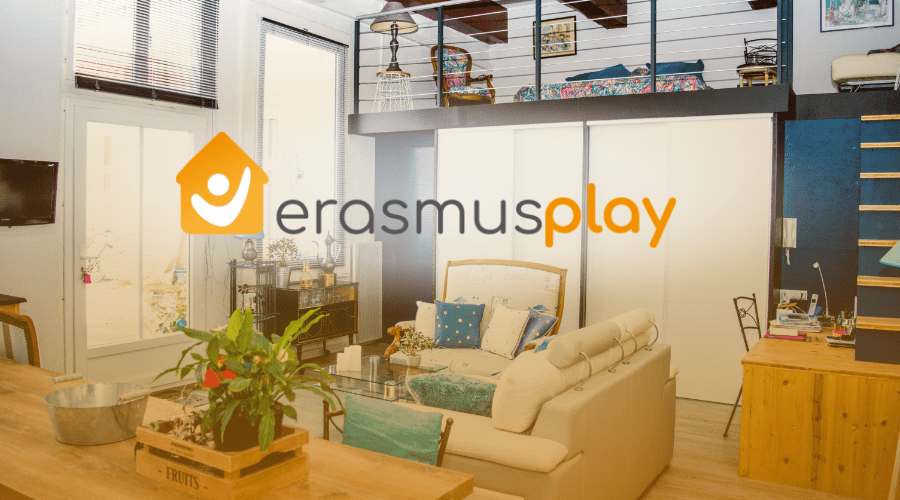 Erasmus Play: accommodation search engine.