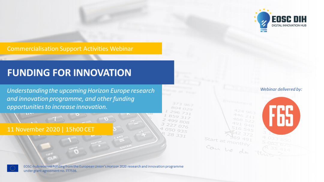 Funding for innovation webinar