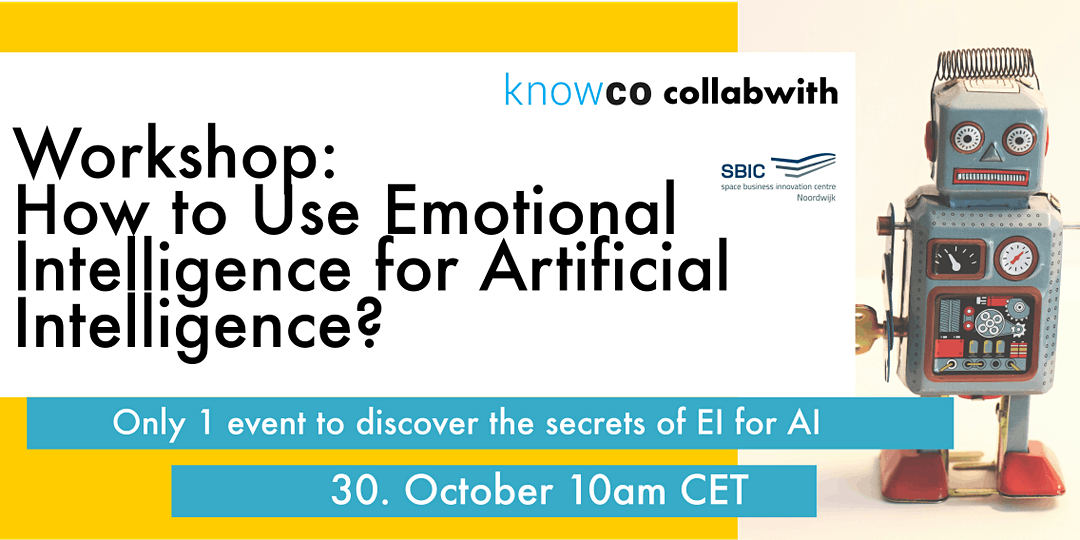 How to use Emotional Intelligence for Artificial Intelligence Workshop